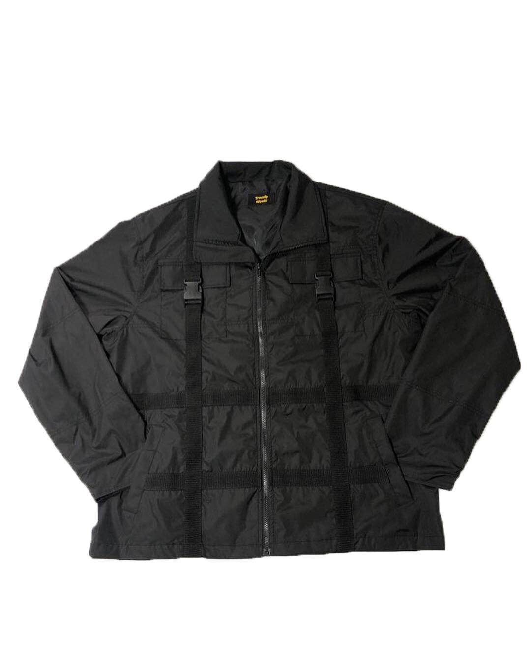 black Strap Windruner Jacket