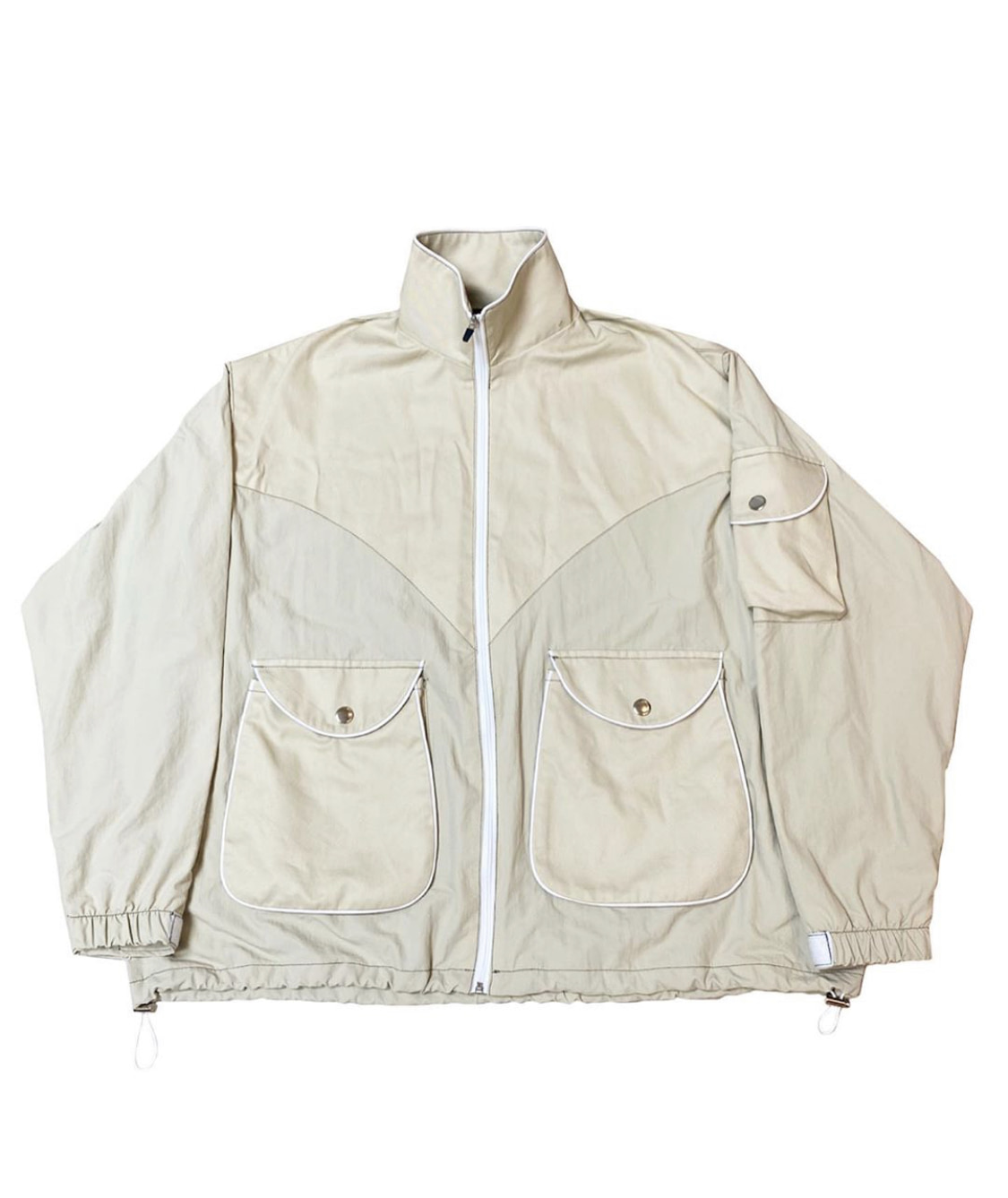 beige 2 color Jacket